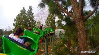 [HD POV] The Dragon Roller Coaster Ride - Including Dark Ride Portion - Legoland, CA