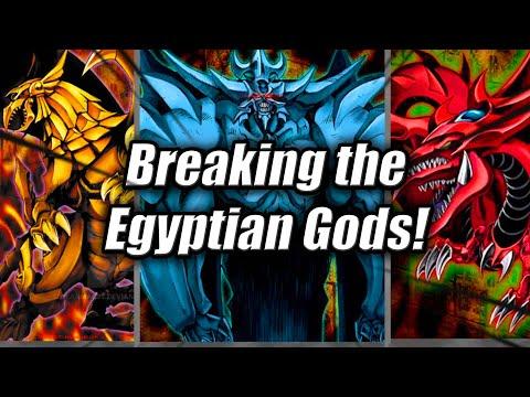 Yu-Gi-Oh! Breaking Anime Decks:The Egyptian Gods