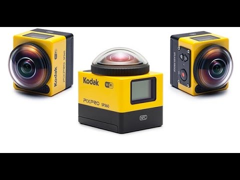 KODAK PIXPRO SP360 Camera Unboxing & Review