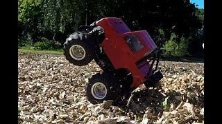 Tamiya Suzuki Jimny (GF-01) - The Big RC Car Woodchip Pile Challenge. Ep 5
