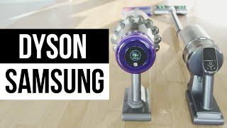 SAMSUNG JET 90 vs DYSON V11 OUTSIZE ► Die Edel Akkusauger im Test !
