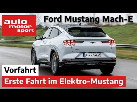 Ford Mustang Mach-E: Die erste Fahrt im Elektro-Mustang – Fahrbericht/Review   auto motor sport