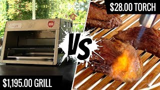 $1,195.00 Grill VS $28 Torch   Best Way To Sear SOUS VIDE STEAKS   Series E2