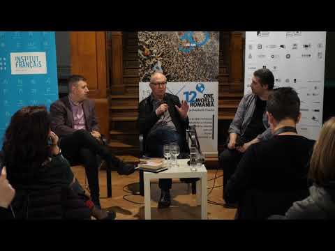Radu Jude în dialog cu Ian Buruma și Adrian Cioflâncă la One World Romania