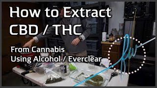 How To Extract CBDTHC From Cannabis With AlcoholEverclear