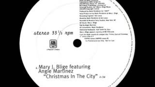 Mary J. Blige ft Angie Martinez - christmas in the city