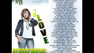 DJ LOGON 2017 REGGAE MIX  LOVERS ROCK