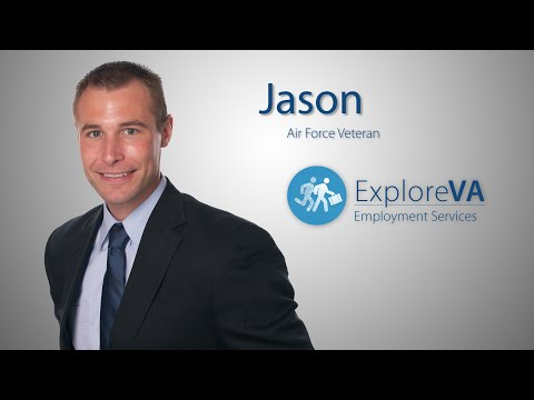 Jason says he is where he is today because of VA's VocRehab program.