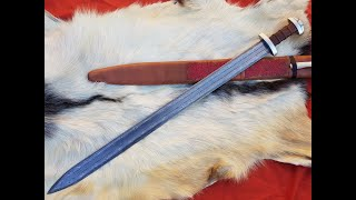Viking Damascus Sword