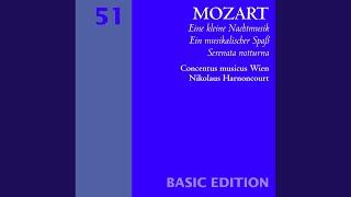 Mozart : Serenade No.6 in D major K239, 'Serenata notturna' : I Marcia - Maestoso