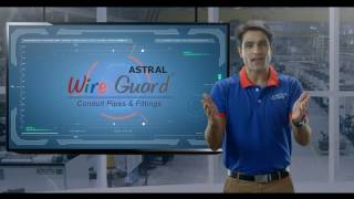 ASTRAL WIRE GUARD - CONDUIT PIPES & FITTINGS