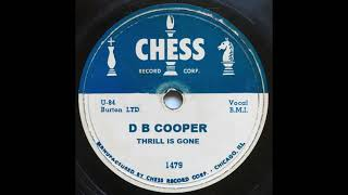 db cooper – thrill is gone