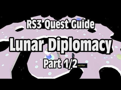 RS3: Lunar Diplomacy Quest Guide - RuneScape (Part 1/2