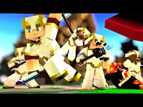 "Minecraft Song ♪ ""Mobs Can't Handle Us"" a Minecraft CrazyCraft Parody (Minecraft Animation)"
