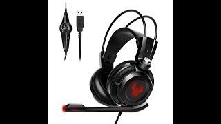 Günstiges Usb Headset für PS4 Xbox One und PC EasyAcc G1 Virtual 7.1 Surround-Sound Gaming Headset
