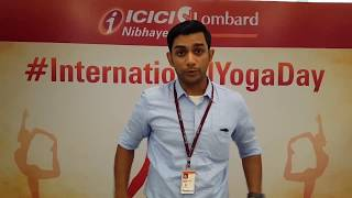 On InternationalYogaDay ICICI Lombard Brings Flexibility To Employees