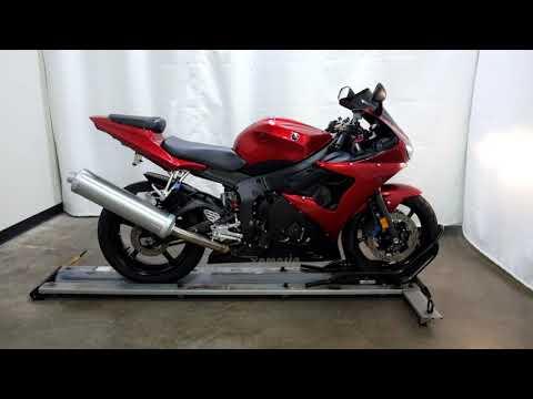 2007 Yamaha YZF-R6S in Eden Prairie, Minnesota - Video 1