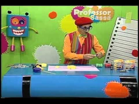 Bichinhos de esponja - Professor Sassá