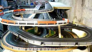 Circuit slot racing scalextric digital 45m - 6 voitures - Bourgogne - P2