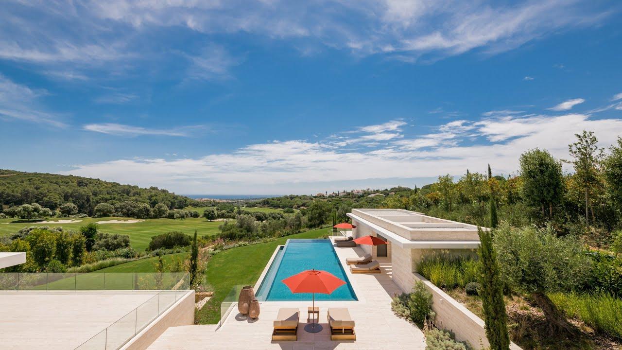 Nouvelle villa de luxe avec vue sur la Méditerranée à vendre à La Reserva de Sotogrande, Sotogrande