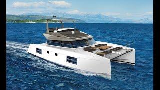 New Power Catamarans for Sale  Nautitech 47