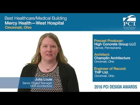 PCI Design Award Best Healthcare/Medical Building