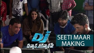 Seeti Maar Song Making from DJ