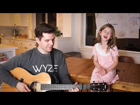 אבא ובת מוכשרים בביצוע ביתי נהדר לשיר Shallow