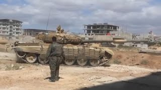 preview picture of video 'ᴴᴰ Tanks with GoPro's™ storming South Darayya Syria Part I *subtitles*'