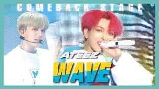 [HOT] ATEEZ   WAVE, 에이티즈   WAVE  Show Music Core 20190615