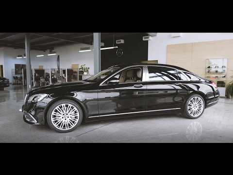 Video Maybach S 560 4M AMG EXCL. ENTERTAIN.FIRST CLASS