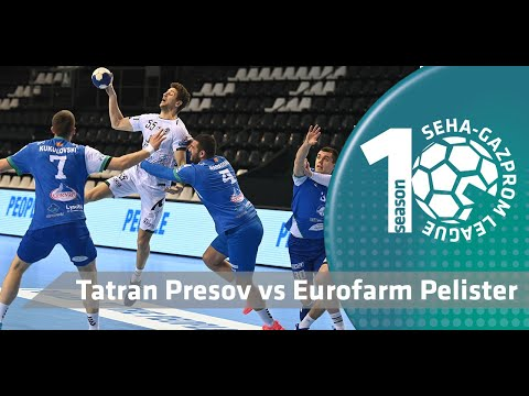 What a fabulous win for Tatran Presov! I Tatran Presov vs Eurofarm Pelister l  Match highlights