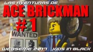 Las aventuras de Ace Brickman -  CAP. 1 -  lego movie animation - stop motion lego