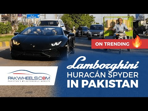 Lamborghini Huracan Spyder | Episode 3 | Wheels of Pakistan | PakWheels