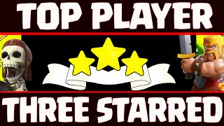 """Clash of Clans ♦ """"TOP Player THREE Starred"""" in War! ♦ Best/Worst Clash of Clans Replays!"""
