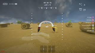 Тренируюсь в симуляторе LiftOff Drone Racing