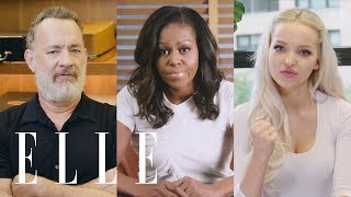 Michelle Obama, Dove Cameron, Misha Collins, and 10 Other Celebs on Their First Time Voting | ELLE
