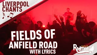 Fields Of Anfield Road (FULL Jamie Webster Version With Lyrics) | LFC Songs