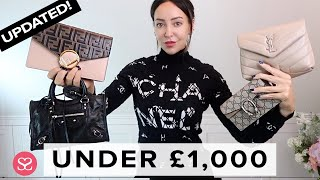 [UPDATED!] Best Luxury Bags To Buy Under £1,000 (+ Farfetch DISCOUNT CODE!) | AD