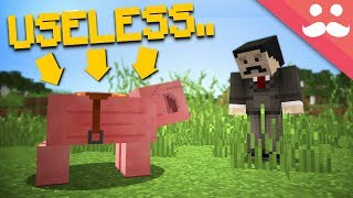 Making USELESS Features USEFUL in Minecraft!