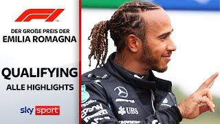 Hamilton vs. Verstappen: Wer holt die Pole? | Qualifying - Highlights | Emilia Romagna | Formel 1