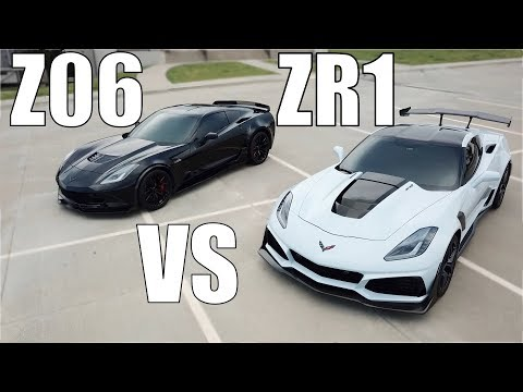 PULLS BETWEEN A STOCK M7 Z06 vs STOCK A8 ZR1 YOU MAY BE SURPRISED!! | SHOULD YOU BUY A ZR1??