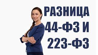В чем разница между 44-ФЗ и 223-ФЗ
