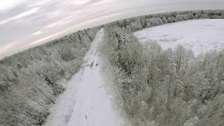 Winter in Latvia | 7'' FPV Freestyle