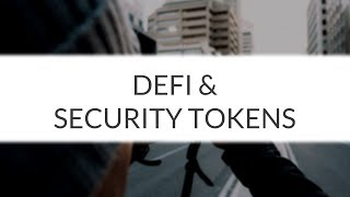 "Fetch | ""Decentralised Finance Needs Security Tokens"""