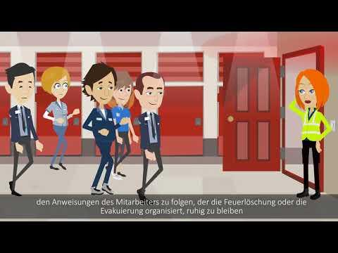Animiertesvideo.ch - Arbeitssicherheitstrainings, Brandschutz, Fahrertraining, Erste Hilfe