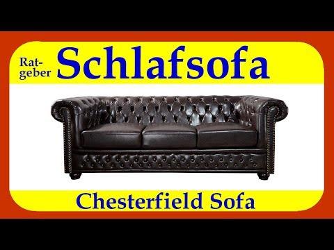 Schlafsofa Chesterfield ob als 2 Sitzer, 3 Sitzer oder Eckcouch - einfach Klasse mit Stil