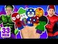 Superheroes Finger Family and more Finger Family Songs! Superhero Finger Family Collection