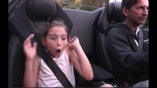 Daddy and daughter drive a Lamborghini | Justin Bell TV