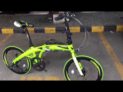 Trinx Dolphin 2.0 Folding bike review
